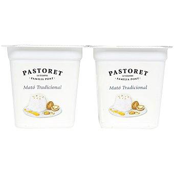 Pastoret Mató Tradicional queso fresco de vaca Pack 2 unidades 125 g