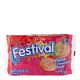 Festival Galleta fresa 415 g