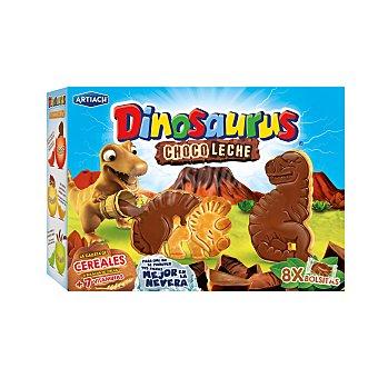 Dinosaurus Artiach Galletas con cereales y cacao con forma de dinosaurios 340 g