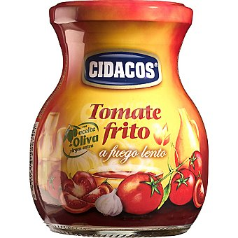 Cidacos Tomate frito a fuego lento con aceite de oliva virgen envase 300 g Envase 300 g