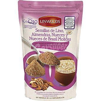 Linwoods Linaza molida nueces de Brasil almendras y Q10 Envase 360 g