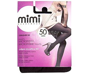 MIMI Opaques Panty 50 Den, opaco, sin demarcación L