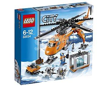 LEGO Juego de Construcciones Helicóptero con Grúa, Modelo 60034 1 Unidad