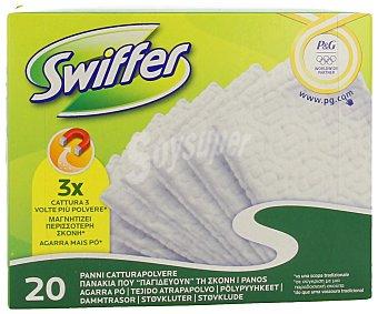 Swiffer Mopa atrapapolvo recambio Pack de 20