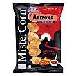 Sabores de Arizona misterchips de maiz sabor salsa rodeo grill Bolsa 90 g MisterCorn Grefusa