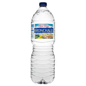 Bronchales Agua mineral natural de mineralización muy débil Botella de 2 l
