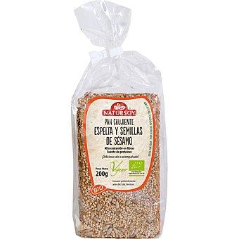 NATURSOY Pan crujiente de espelta y semillas de sésamo Bio  envase 200 g