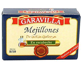 Garavilla Mejillones en Escabeche 8/10 Piezas 69g