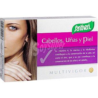 Santiveri Multivigor cabellos uñas y piel Envase 48 comprimidos