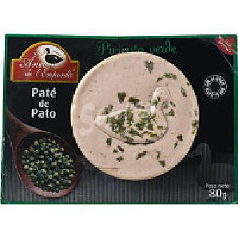 ANEC L'EMPOR Paté de pato a la pimienta verde 100 g