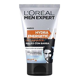 L'Oréal Gel limpiador Hydra Energetic para pieles con barba men expert 150 ml