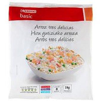 Eroski Basic Arroz 3 delicias Bolsa 1 kg