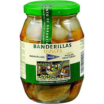 Hipercor Banderillas dulces Frasco 180 g neto escurrido