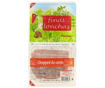 Auchan Chopped Cerdo finas lonchas 200g