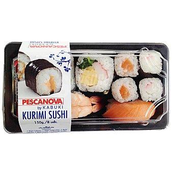 Pescanova Kurimi sushi Bandeja de 150 g (8 unidades)