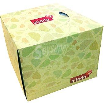 Aliada Pañuelos faciales cubo Caja 60 unidades