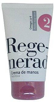 DELIPLUS Crema de manos Nº2 regeneradora nutritiva TUBO 125 cc
