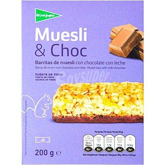 Aliada Barritas de muesli con chocolate Paquete 200 g