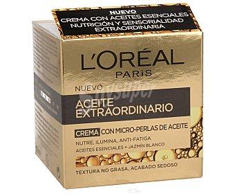 L'Oréal Crema antiarrugas de día anti fatiga con micro perlas de aceite 50 mililitros