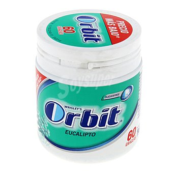 Orbit Chicles de eucalipto 98 g