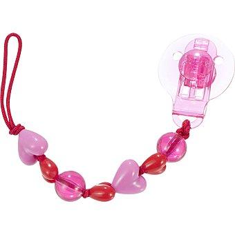 DIFRAX Cadena para chupete en color rosa 1 Unidad