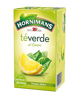 Hornimans Té verde limón Caja 20 sobres