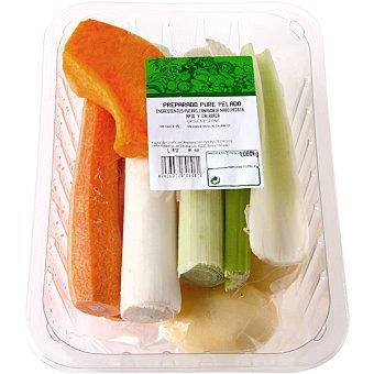 Surtido de verduras para puré tarrina 1 kg