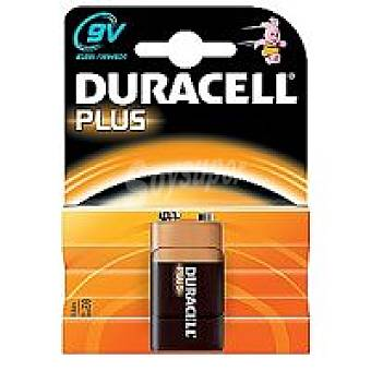 Duracell Pila alcalina 9V Plus Pack 1 unid