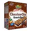 Barritas Chocolate chips sin gluten Caja 5 u (124 g) Sam Mills