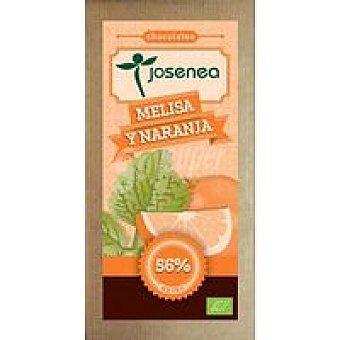 JOSENEA Chocolate con melisa-naranja Tableta 100 g