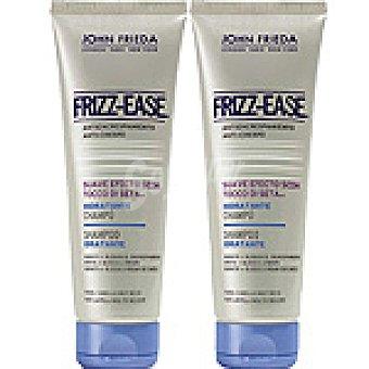 John Frieda Pack Frizz Ease champú suave efecto seda hidratante para cabello muy seco frasco 250 ml (pack 2x1) Frasco 250 ml