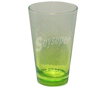 Pasabahce Vaso Petek con capacidad de 40 centílitros, color verde efecto degradado pasabahce