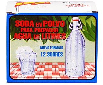 LA BANDERA Soda litines 12 unidades