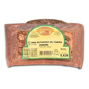 Marvall Queso semicurado artesano de cabra al romero Formatgeria pieza 230 g aprox 230.0 g. aprox