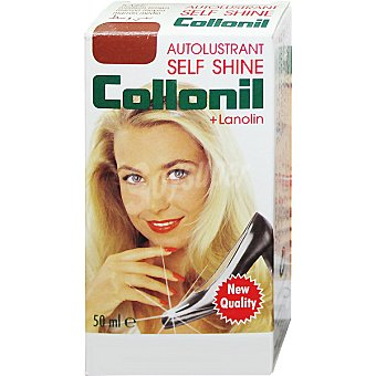 COLLONIL Self Shine Limpia calzado líquido marrón Botella 50 ml