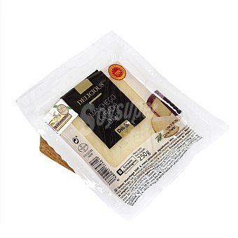 DIA Delicious Queso manchego curado D.O.P cuña 250 gr