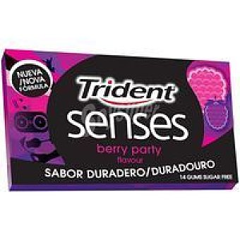 Trident Chicle Berry Party Paquete 27 g