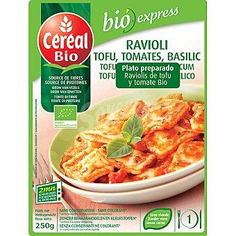 CEREAL BIO raviolis de tofu y tomate ecológicos envase 250 g