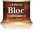 Bloc paté de pato Lata 145 g La Piara