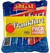 Salchichas frankfurt ahorro 420 g Argal