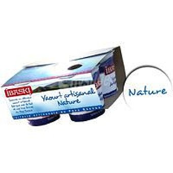 IBASKI Yogur natural Pack 4x125 g
