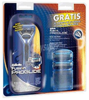 Gillette Fusion Proglide Pack maquinilla + cargador + mango 1 ud