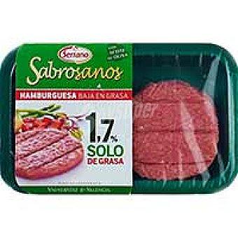 SERRANO Sabrosano Hamburguesa de cerdo 4 unid