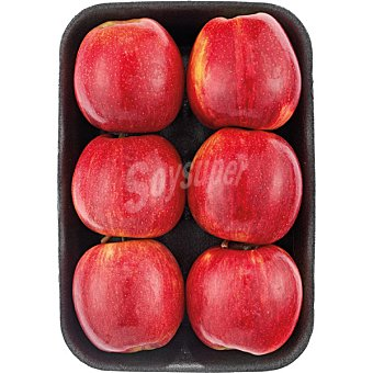 EL CAPRICHO Manzana royal gala  Bandeja 1 kg peso aproximado