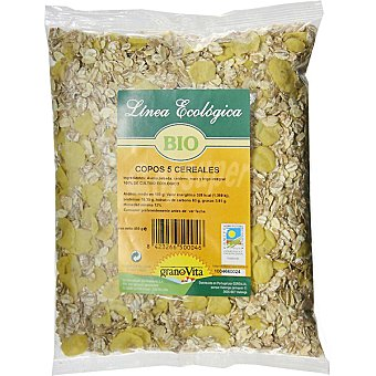 Granovita Copos biológicos 5 cereales Bolsa 500 g