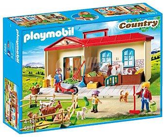 Playmobil Escenario de juego Granja en maletín, Country 4897 playmobil