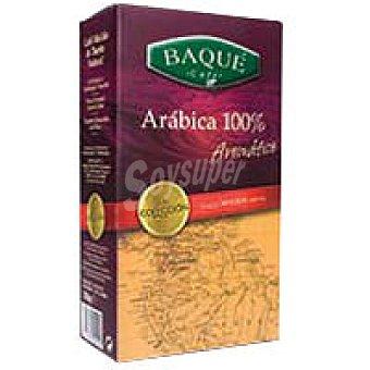 Baqué Café molido 100% Arábica Caja 250 g
