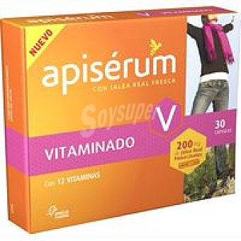 Apiserum Jalea real vitaminado 200 mg Caja 30 unid