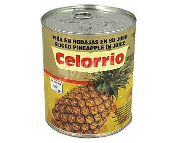 Celorrio Piña en rodajas en su jugo 490 g