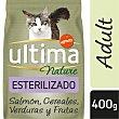 Nature alimento para gatos esterilizados con salmón Bolsa 400 gr Ultima Affinity